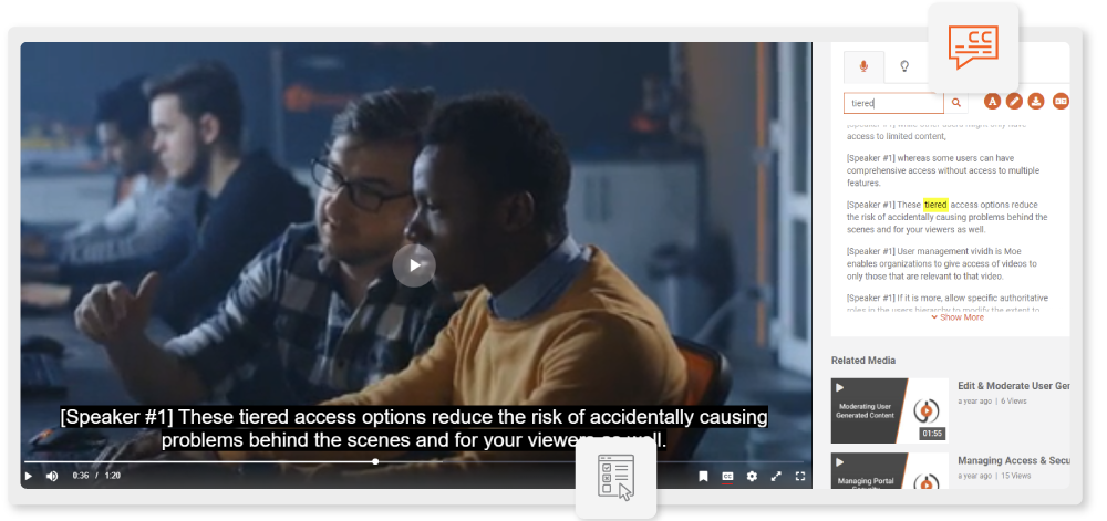 Search-in-Closed-Captions-through-Automatic-Speech-Recognition
