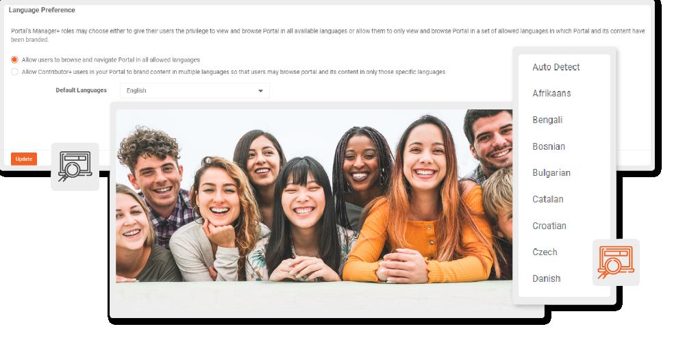 Consistent and Inclusive Portal Language