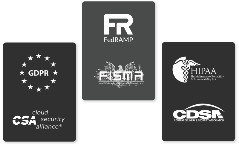 Covering a Broad Range of Compliance Certifications