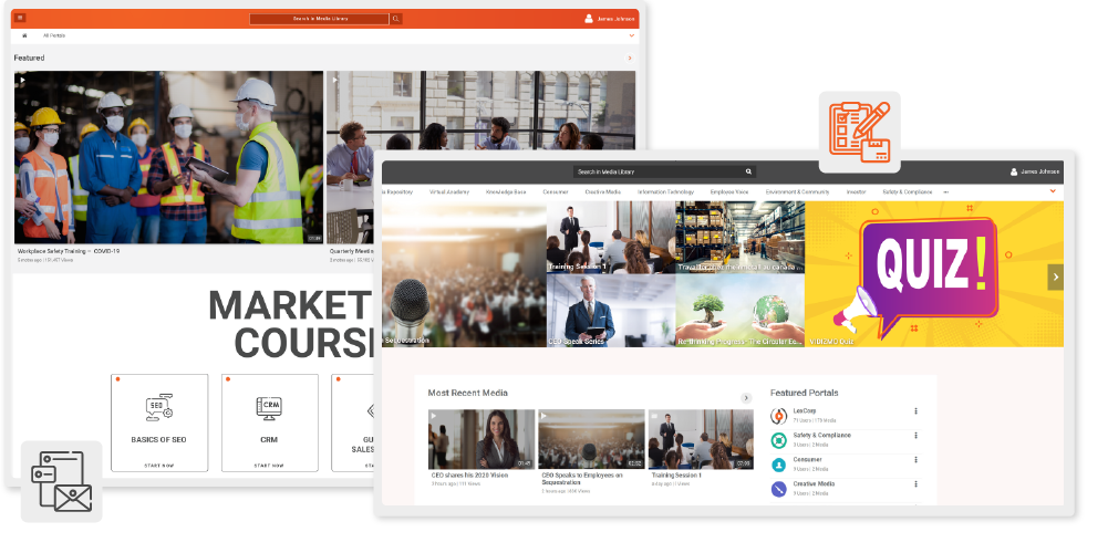 Redesign Video Portal for Customized Experience