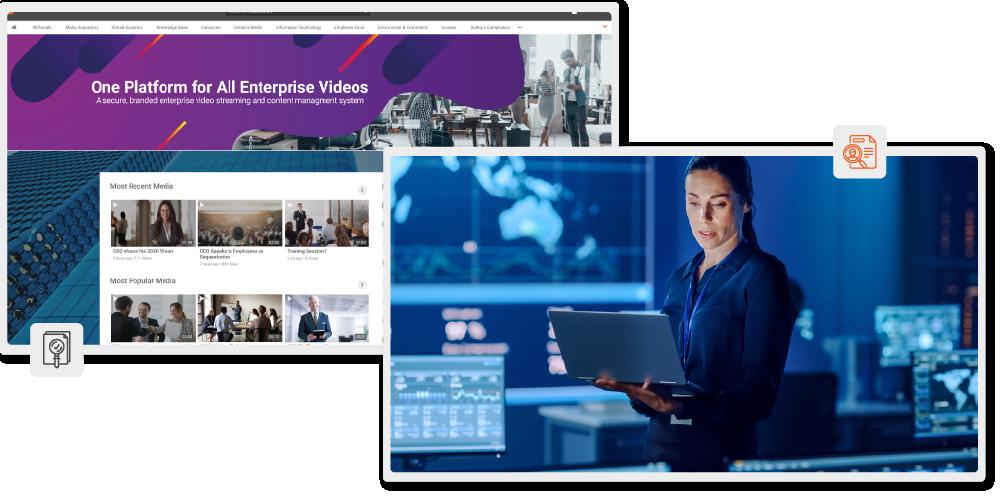 On-Premise Live and On-demand Video Platform-01-01